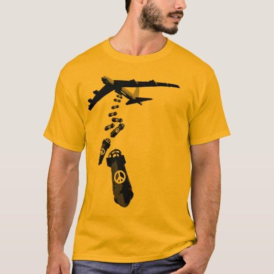 Camiseta la paz es la bomba