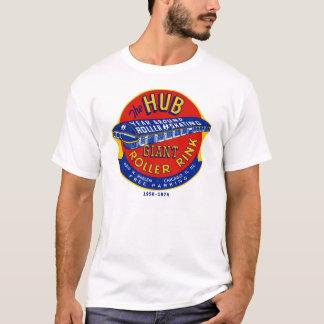Camiseta La pista Chicago/Norridge Illinois del rodillo del