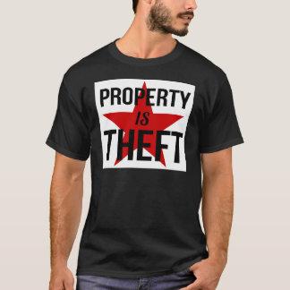 Camiseta La propiedad es hurto - comunista socialista del