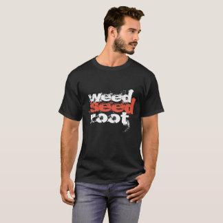 Camiseta la raíz de la semilla de la mala hierba suprime el