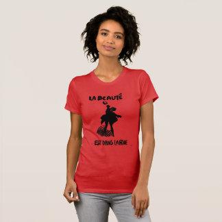 Camiseta La ruda/la belleza del la de los dans del est del