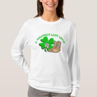 Camiseta La señora Luck de un soldado