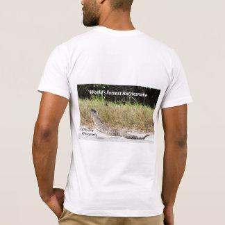 Camiseta La serpiente de cascabel más gorda del mundo