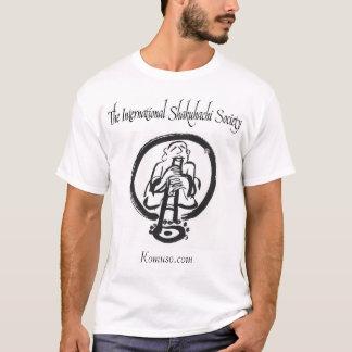 Camiseta La sociedad internacional de Shakuhachi
