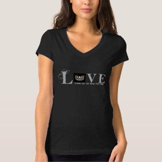 Camiseta La Srta. los E.E.U.U. diseña el amor que usted es