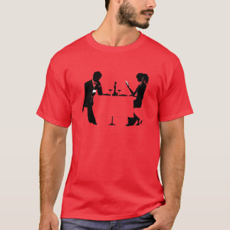 Camiseta ¿La tecnología ha asumido el control su vida?