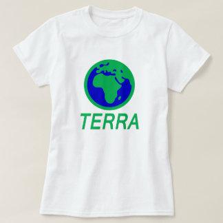 Camiseta La tierra y el texto: Tierra en gallego