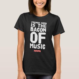 Camiseta La trompa es el tocino de la música