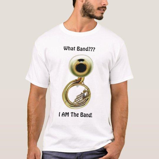 Camiseta La tuba es la banda