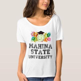 Camiseta La universidad más fina de Mahina, Hawaii