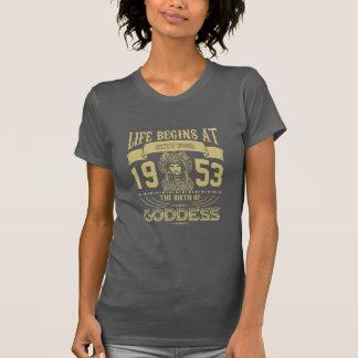 Camiseta La vida comienza en sesenta y cuatro 1953 el
