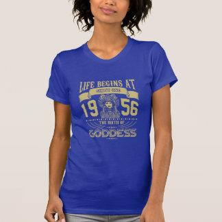Camiseta La vida comienza en sesenta y uno 1956 el