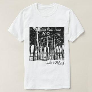 Camiseta ¡La vida es salada en la playa y la amamos!