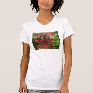 Camiseta La vida es un jardín