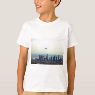 Camiseta LA y helicóptero
