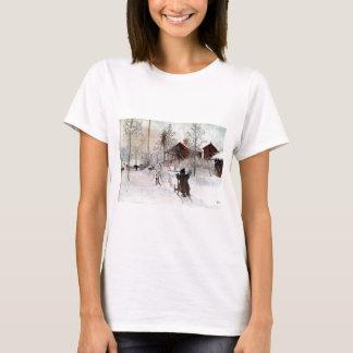 Camiseta La yarda y el Lavado-House, Carl Larsson