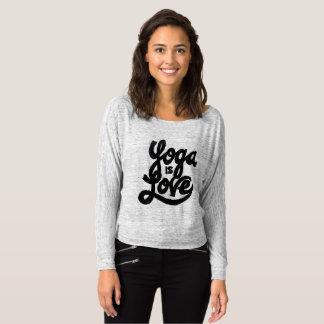 Camiseta la yoga es amor