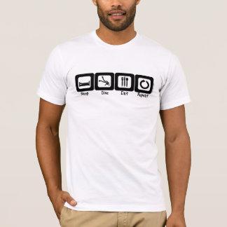 Camiseta La zambullida del sueño come la repetición