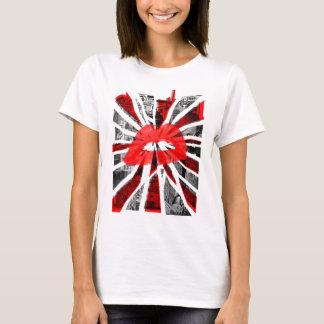 Camiseta Labios abstractos