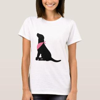Camiseta Labrador retriever negro