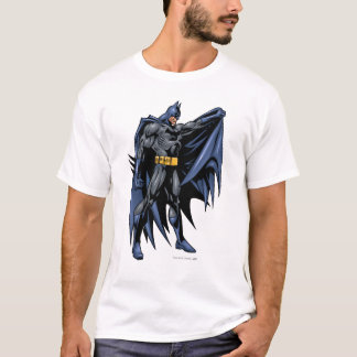 Camiseta Lado a todo color de Batman
