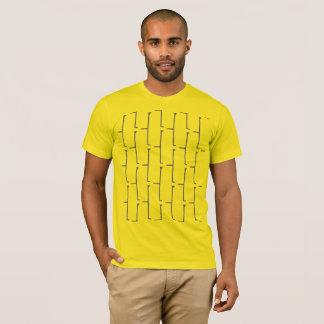 Camiseta Ladrillo gris amarillo