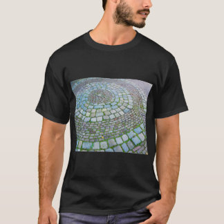 Camiseta Ladrillos holandeses del espiral de la fotografía