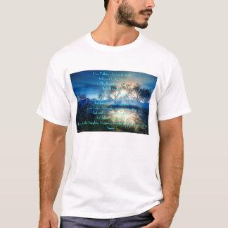 Camiseta lago de la mañana/de la tarde