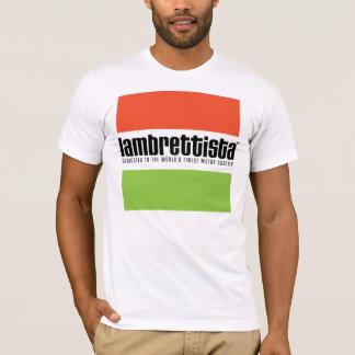 Camiseta Lambrettista tricolor