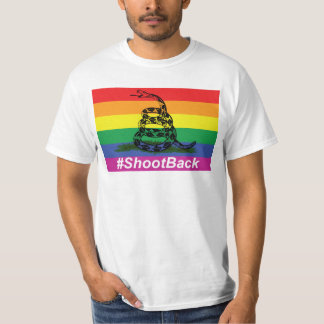Camiseta Lanzamiento de la bandera de la serpiente de