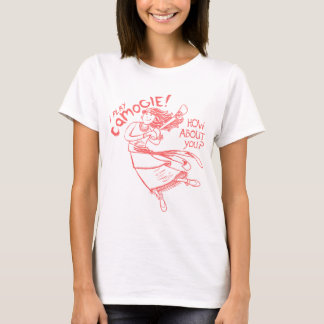 Camiseta Lanzamiento irlandés bohemio gitano de Camogie