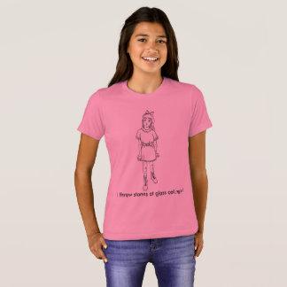 Camiseta ¡Lanzo piedras en los techos de cristal!