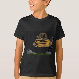 Camiseta Lápiz del vuelo