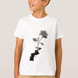 Camiseta Lápiz Detroit del color subió