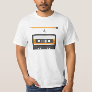 Camiseta Lápiz y criba compacta del casete