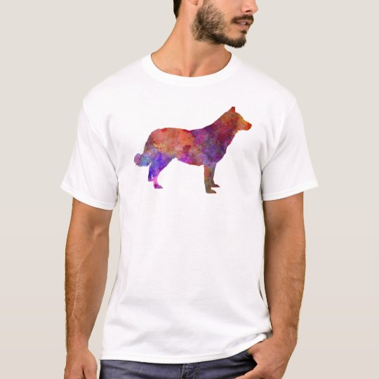 Camiseta Lapponian Herder in watercolor
