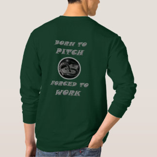 Camiseta larga básica de la manga de las