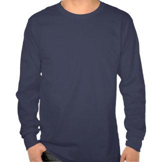 Camiseta larga básica para hombre de la manga de l