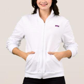 Camiseta larga blanca de la manga de Dina