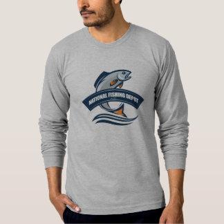 Camiseta larga de la felpa de la manga - depósito