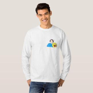 Camiseta larga de la manga