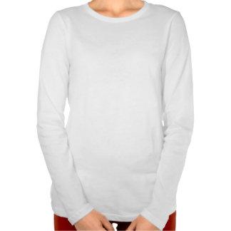 Camiseta larga de la manga de Gaygull de las