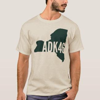 Camiseta larga de la manga de la lista de los