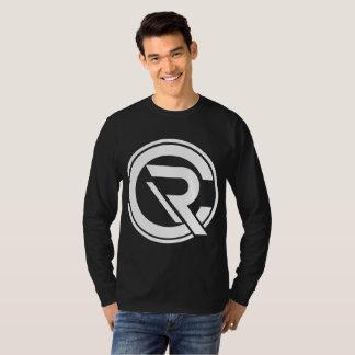 Camiseta larga de la manga de los hombres del CRC