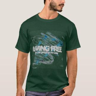 Camiseta larga de la manga de los hombres libres