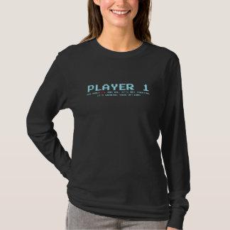 Camiseta larga de la manga del jugador 1