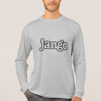 Camiseta larga de la manga del mango