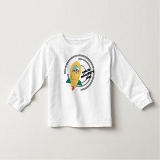 Camiseta larga de la manga del niño del tiempo de