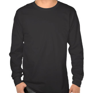 Camiseta larga de la manga (oscura)