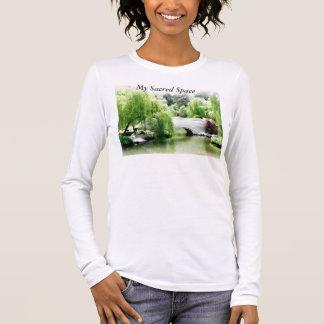 Camiseta larga de la yoga de la manga, mi camiseta